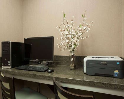 Business center with high-speed Internet access | Comfort Suites Lake Norman - Huntersville