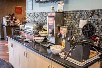 Free breakfast with waffles | Comfort Suites New Bern near Cherry Point