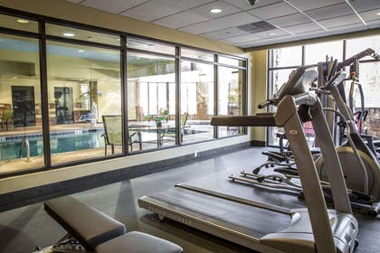 Exercise room | Comfort Suites New Bern near Cherry Point
