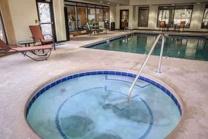 Relax in the hot tub | Comfort Suites New Bern near Cherry Point