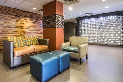 Spacious lobby with sitting area | Comfort Inn & Suites Kannapolis - Concord