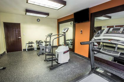 Fitness center with television | Comfort Inn & Suites Kannapolis - Concord