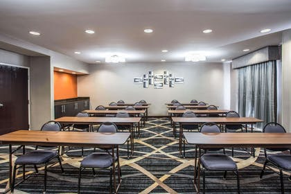 Meeting room with classroom-style setup | Comfort Inn & Suites Kannapolis - Concord