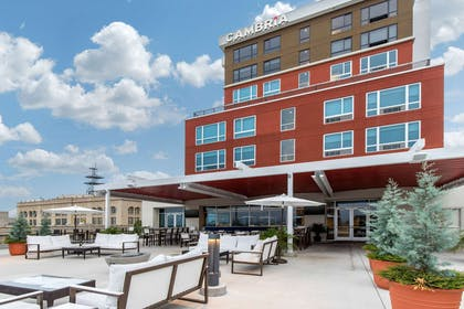 Rooftop patio | Cambria Hotel Downtown Asheville