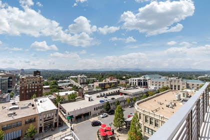 City views | Cambria Hotel Downtown Asheville