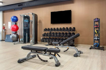 Fitness center | Cambria Hotel Downtown Asheville