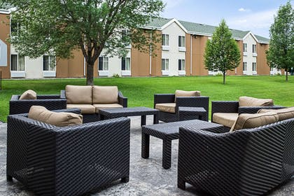 Relax on the sundeck | Mainstay Suites Fargo