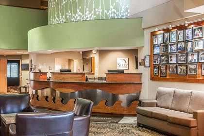 Front desk | Sleep Inn & Suites Conference Center and Water Park