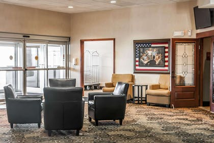Lobby with sitting area | Sleep Inn & Suites Conference Center and Water Park