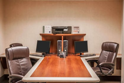 Business center with high-speed Internet access | Sleep Inn & Suites Conference Center and Water Park
