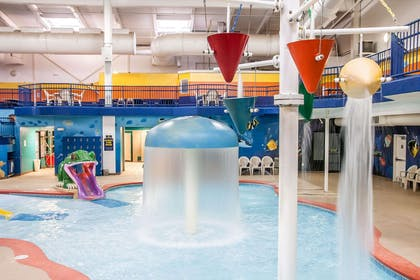 Indoor pool | Sleep Inn & Suites Conference Center and Water Park