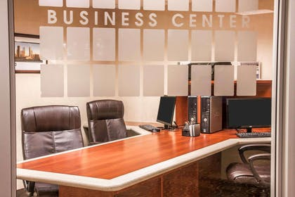 Business center | Sleep Inn & Suites Conference Center and Water Park