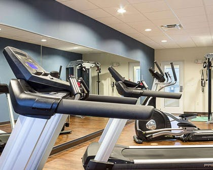 Fitness center | Comfort Suites Minot