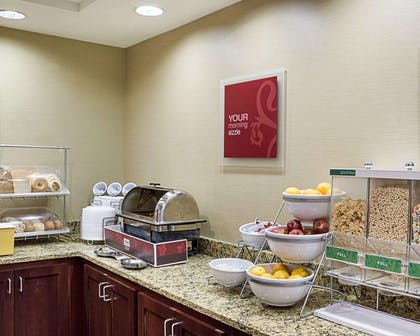 Free full breakfast | Comfort Suites Minot