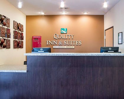 Front desk with friendly staff | Quality Inn & Suites