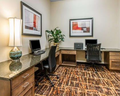 Business center with high-speed Internet access | MainStay Suites Event Center