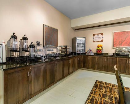 Breakfast counter | MainStay Suites Event Center
