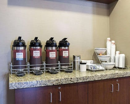 Free coffee | Comfort Suites Medical Center
