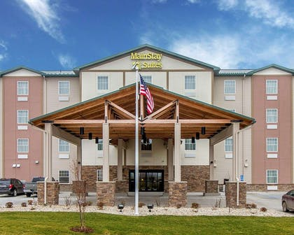 New MainStay Suites Stanley hotel in Stanley, ND near Flickertail Village & Museum | MainStay Suites Stanley