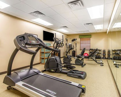 Fitness center | MainStay Suites Stanley