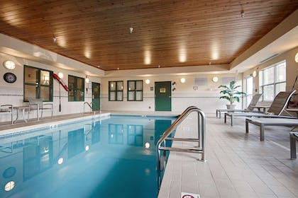 Indoor pool   Quality Inn and Suites