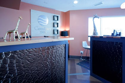 Front desk with friendly staff | Comfort Inn At The Zoo