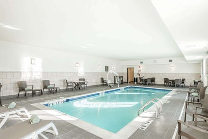 Relax by the pool | Comfort Inn & Suites Sidney I-80