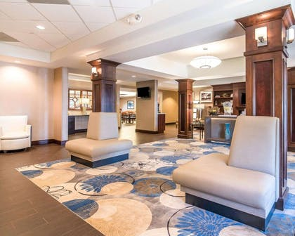 Spacious lobby | Comfort Inn & Suites Dover-Portsmouth