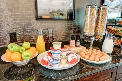 Assorted breakfast items | The Garrison Hotel & Suites Dover-Durham, Ascend Collection