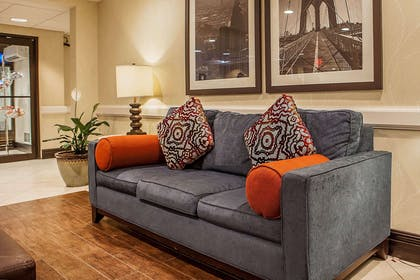 Lobby with sitting area | Comfort Inn & Suites Somerset - New Brunswick