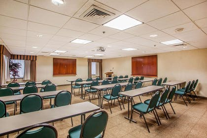 Meeting room with classroom-style setup | Comfort Inn & Suites Somerset - New Brunswick