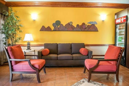 Lobby with sitting area | Comfort Suites North Albuquerque Balloon Fiesta Park