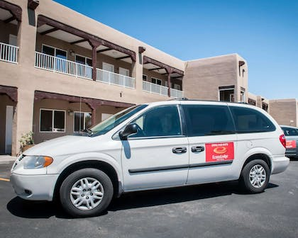Hotel shuttle available | Econo Lodge Old Town