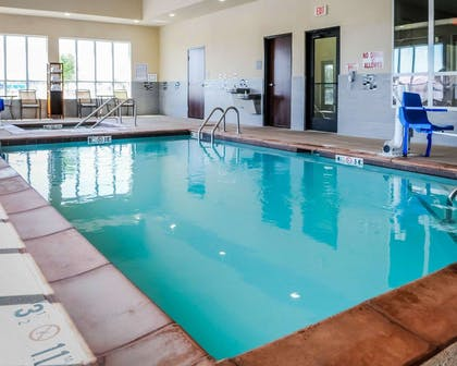Indoor pool | Comfort Inn & Suites Artesia