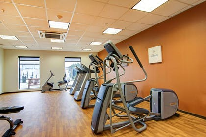 Exercise room with cardio equipment | Comfort Suites Carlsbad