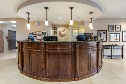 Front desk with friendly staff   Comfort Suites Fernley