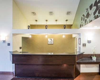 Front desk with friendly staff | Sleep Inn & Suites Queensbury - Glen Falls