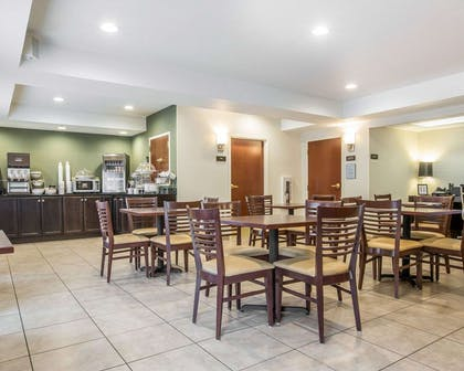 Spacious breakfast area | Sleep Inn & Suites Queensbury - Glen Falls