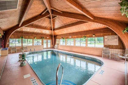 Indoor heated pool | Comfort Inn Corning