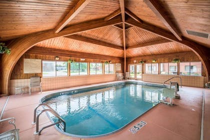 Indoor pool | Comfort Inn Corning