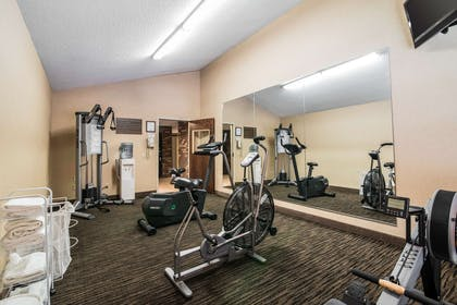 Fitness center | Clarion Inn & Suites - University Area