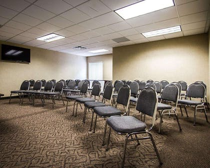 Meeting room with theater-style setup | Quality Inn & Suites Fishkill South near I-84