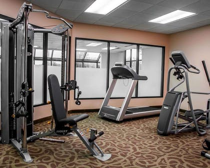 Fitness center with cardio equipment and weights   Comfort Inn & Suites Watertown - 1000 Islands