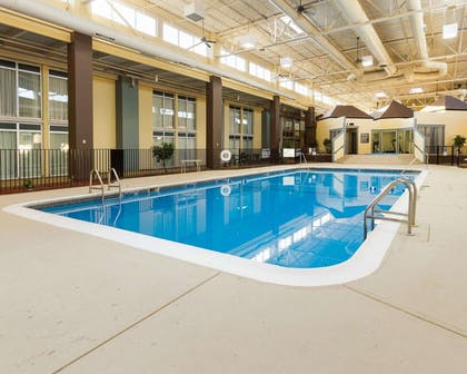Indoor pool | Comfort Inn & Suites Airport