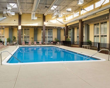 Indoor heated pool | Comfort Inn & Suites Airport