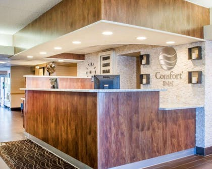 Front desk with friendly staff | Comfort Inn Rochester - Greece