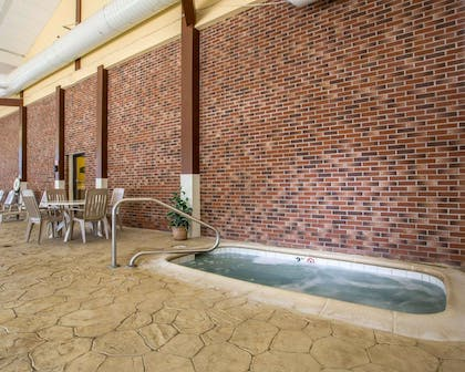 Indoor hot tub | Clarion Inn & Suites at the Outlets of Lake George