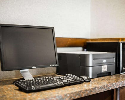 Business center with free wireless Internet access | Clarion Inn & Suites at the Outlets of Lake George