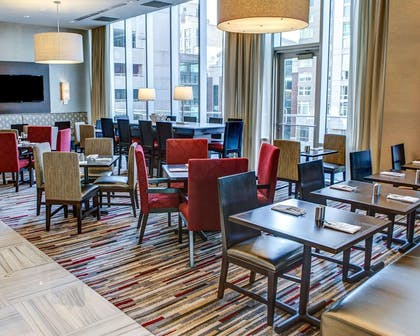 Beautifully furnished lobby   Cambria Hotel White Plains - Downtown
