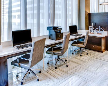 Business center | Cambria Hotel White Plains - Downtown
